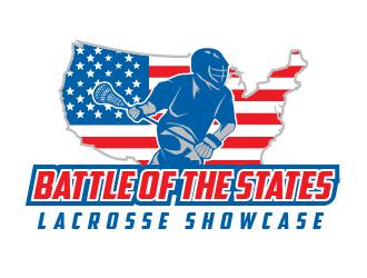 Battle of the States Lacrosse Showcase logo design ...