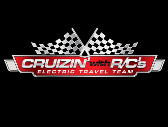 Cruizin' with R/C's - Electric Travel Team logo design