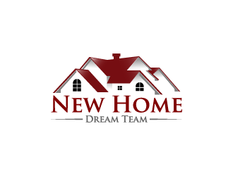 New Home Dream Team logo design