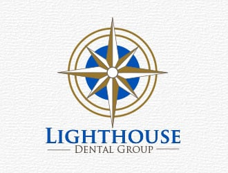Lighthouse Dental Group logo design