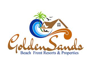 GOLDEN SANDS BEACH FRONT RESORTS AND PROPERTIES logo design ...