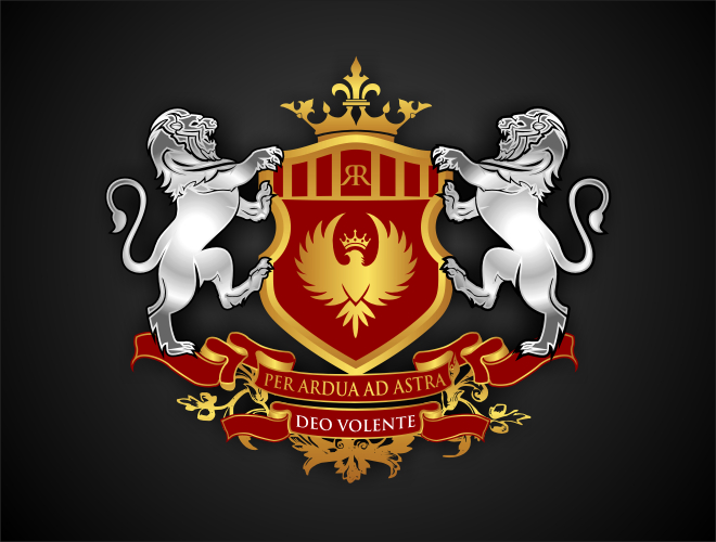 coat of arms/shield logo design