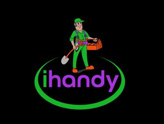ihandy logo design