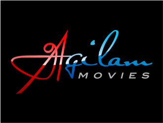 Agilam movies logo design winner