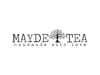 Mayde Tea logo design