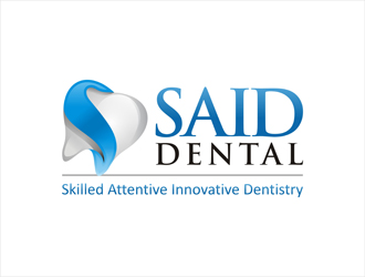 SAID Dental Logo Design Concepts 21