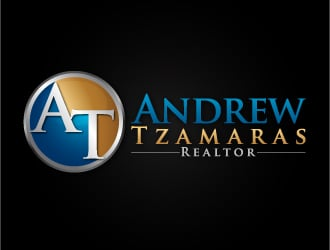 Andrew Tzamaras logo design