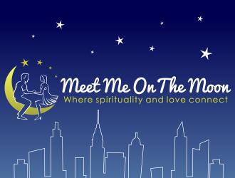 Meet Me on the Moon logo design
