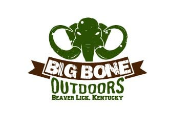 BIG BONE OUTDOORS logo winner