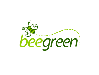 Bee Green logo design