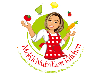 Nicki's Nutrition Kitchen logo design