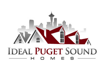 Ideal Puget Sound Homes Logo Design Concepts 9