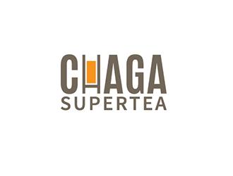 Chaga Supertea logo design