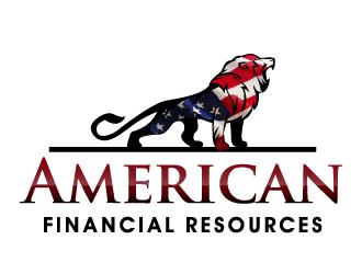 American Financial Resources Logo Design 48hourslogocom