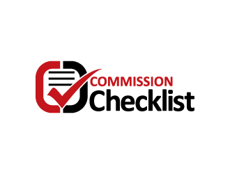 Commission Checklist logo design