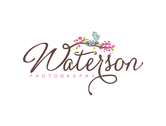 Waterson Photography logo design
