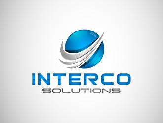 Interco Solutions logo design winner