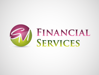 SM Financial Services logo design - 48HoursLogo.com