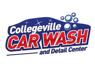 Collegeville Car Wash and Detail Center logo design