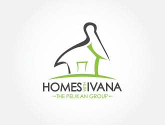 Homes With Ivana Logo Design Concepts #61 Part 46