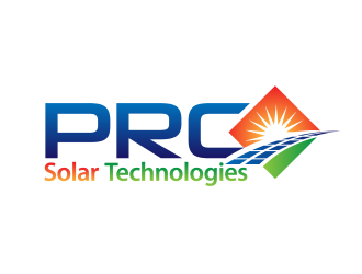 PRC Solar Technologies logo design winner