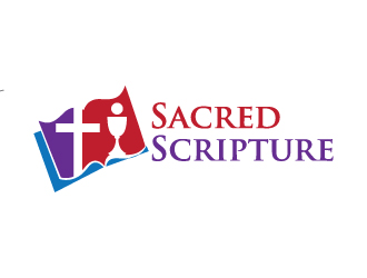 Sacred Scripture logo design winner