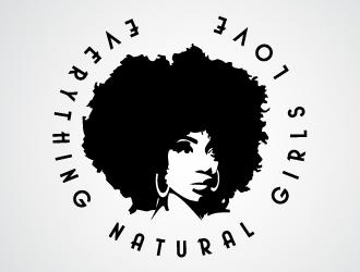 Afro Girl Logo Design 48hourslogo Com