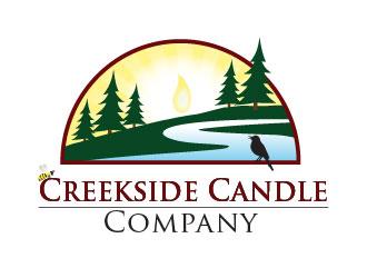 Creekside Candle Company logo design