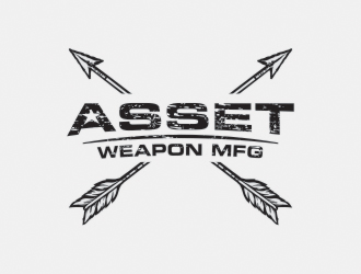 Asset Weapon MFG logo design