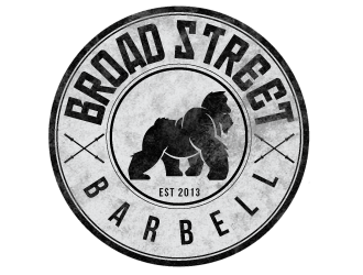 Broad Street Barbell logo design