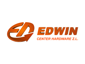 Edwin Center Hardware Z.L. logo design