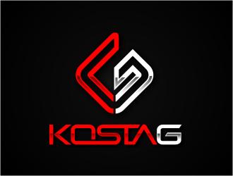 Kosta G logo design