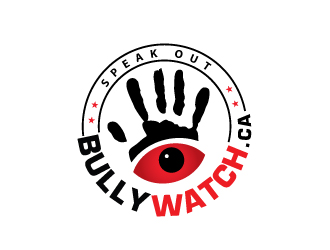 bullywatch.ca (you wisper), we act logo design