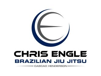 Chris Engle Brazilian Jiu Jitsu logo design