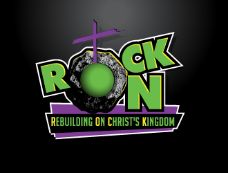 ROCK On logo design