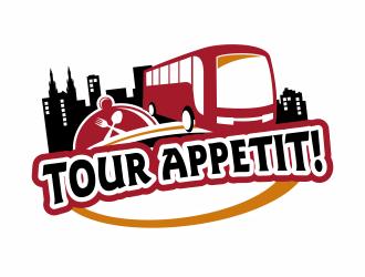 Tour Appetit! logo design