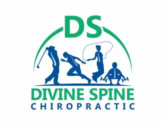 Divine Spine Chiropractic logo design winner