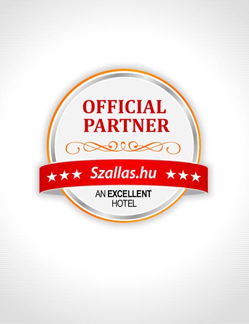 Official partner badge logo design