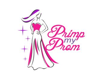 Primp My Prom Logo Design 48hourslogo Com