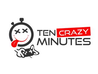 Ten Crazy Minutes logo design