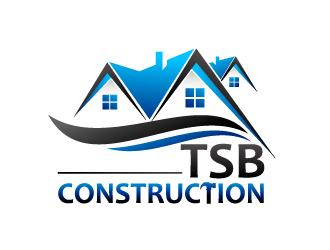 TSB Construction logo design - 48HoursLogo.com