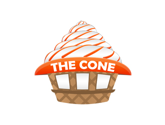 The Cone logo design