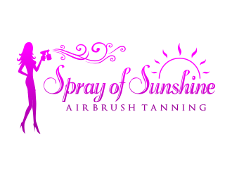 Tres Chic Airbrush Spray Tanning by Lori logo design - 48HoursLogo.com