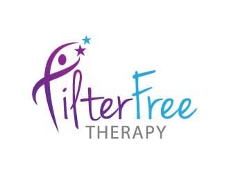 Filter Free Therapy logo design winner