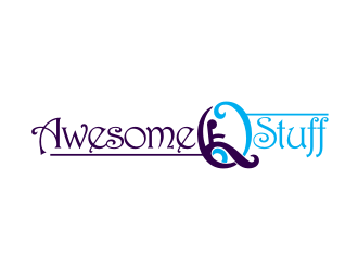 Awesome Q Stuff logo design