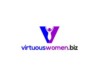 virtuouswomen.biz logo design