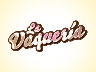 La Vaquería logo design