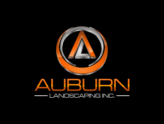 Auburn Landscaping Inc. logo design