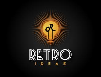 Retro Lighting Company Logo Design Concepts 23