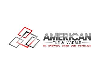 American Tile Marble Logo Design 48hourslogocom